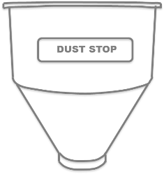 Tramoggia Dust Stop